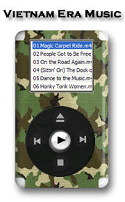 Click here to access online Vietnam Era Music Player.